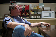 Coyne Gibson, observing support manager at McDonald Observatory, at the McDonald Observatory in Fort Davis, Texas on June 18, 2015. (Cooper Neill for The Texas Tribune)