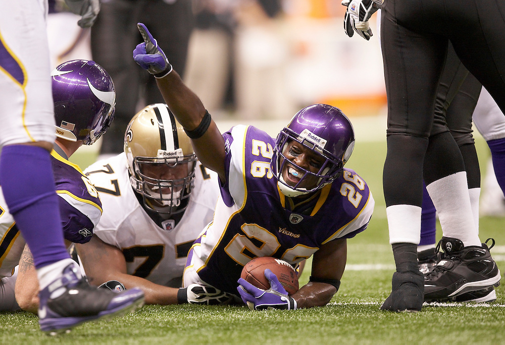 2008 Minnesota Vikings vs New Orleans Saints at the Louisiana Superdome in New Orleans, La.,  on Sunday, October 6, 2008.