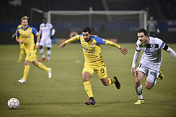 February 17, 2018 - Leuven, BELGIUM - Beerschot's Hernan Losada runs for the ball during a soccer game between OH Leuven and KFCO Beerschot Wilrijk, in Heverlee, Leuven, Saturday 17 February 2018, on day 27 of the division 1B Proximus League competition of the Belgian soccer championship. BELGA PHOTO BRUNO FAHY (Credit Image: © Bruno Fahy/Belga via ZUMA Press)