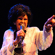 WASHINGTON, D.C. - February 26th, 2011: Wanda Jackson, the self-proclaimed First Lady of Rockabilly and America's first female Rock and Roll singer, performs at the 9:30 Club in Washington, D.C. Jackson, 73, is enjoying a career resurgence thanks to her latest album, The Party Ain't Over, which was produced by Jack White.  (Photo by Kyle Gustafson/For The Washington Post)