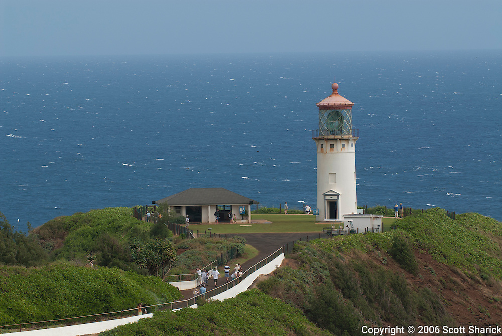 Kilauea Lighthouse on the island of Kauai, Hawaii.