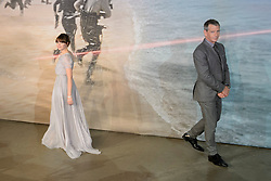 Ben Mendelssohn and Felicity Jones attending the Rogue One: A Star Wars Story Premiere, at the Tate Modern, London. Picture date: Tuesday December 13th, 2016. Photo credit should read: Matt Crossick/ EMPICS Entertainment.