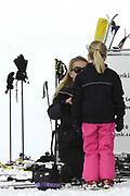 Fotosessie met de koninklijke familie in Lech /// Photoshoot with the Dutch royal family in Lech .<br /> <br /> Op de foto / On the photo: Prinses Mabel  Luana ///// Prinsess Mabel with  Luana