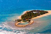 Aerial view, Pacific Ocean off Noumea, Grand Terre, New Caledonia