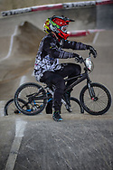 #194 (VILLEGAS Federico) ARG at the 2018 UCI BMX Superscross World Cup in Saint-Quentin-En-Yvelines, France.