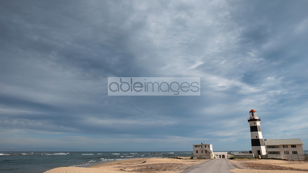 Beach and Lighthouse, Cape Recife Nature Reserve, Port Elizabeth, South Africa