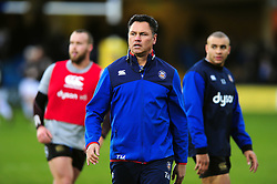 Bath Rugby Head Coach Tabai Matson looks on during the pre-match warm-up - Mandatory byline: Patrick Khachfe/JMP - 07966 386802 - 31/12/2016 - RUGBY UNION - The Recreation Ground - Bath, England - Bath Rugby v Exeter Chiefs - Aviva Premiership.