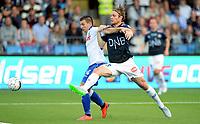 Fotball <br /> UEFA Europa League <br /> Third Qualification Round<br /> Strømsgodset v HNK Hajduk Split 0:2 (0:4)<br /> 06.08.2015<br /> Foto: Morten Olsen/Digitalsport<br /> <br /> 24 Marko Pejic - HNK<br /> 23 Thomas Sørum - SIF