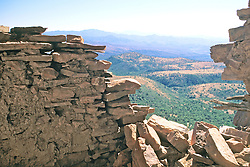 Cliff Wall, Mustang Ridge, Apache Reservation