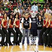 Anadolu Efes's Supporters fans during their Turkish Basketball League match Anadolu Efes between Antalya BSB at the Ayhan Sahenk Erdem Arena in Istanbul, Turkey, Sunday, February 24, 2013. Photo by Aykut AKICI/TURKPIX