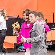 NLD/Amersfoort/20190427 - Koningsdag Amersfoort 2019, Prinses Marilene en Prins Maurits