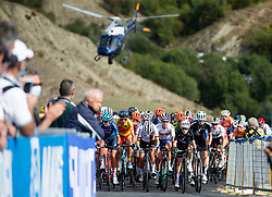 Peloton during Women Elite Road Race at UCI Road World Championship 2020, on September 26, 2020 in Imola, Italy. Photo by Vid Ponikvar / Sportida
