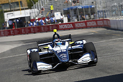 July 13, 2018 - Toronto, Ontario, Canada - MAX CHILTON (59) of England takes to the track to practice for the Honda Indy Toronto at Streets of Exhibition Place in Toronto, Ontario. (Credit Image: © Justin R. Noe Asp Inc/ASP via ZUMA Wire)
