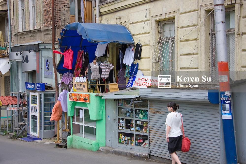 Street view, Tbilisi, Georgia
