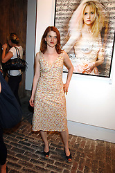 Artist MINNIE WEISZ sister of actress Rachel Weisz at the launch of 'Glenmorangie 5 Senses' an exhibition of photographs by Mike Figgis held at Proud Camden, Stables Market, London NW1 on 13th May 2008.<br /><br />NON EXCLUSIVE - WORLD RIGHTS