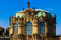 The Ramparts Pavilion, The Dresden Zwinger, Dresden, Saxony, Germany