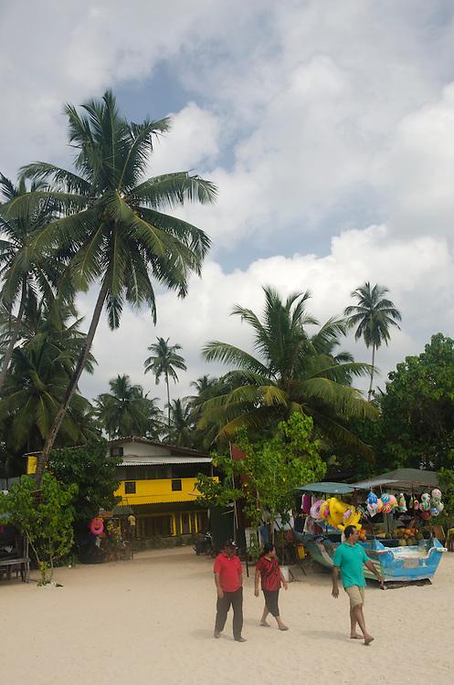 The Jungle beach in Unawatuna, Sri Lanka