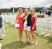 EMERALD FRASER; COCO CLEVELEY; EMILY PEARSON, Veuve Clicquot Gold Cup. Cowdray Park on July 20, 2008 . Midhurst, England.