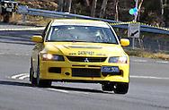 Greg Burrowes & Rhonda Burrowes.2005 Mitsubishi Lancer Evolution IX.Day 2.Targa Wrest Point 2009.Southern Tasmania.1st of February 2009.(C) Joel Strickland Photographics.