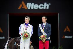 Jacques Ferrari, (FRA), Francois Athimon - Individuals Men Final Vaulting - Alltech FEI World Equestrian Games™ 2014 - Normandy, France.<br /> © Hippo Foto Team - Jon Stroud<br /> 05/09/2014