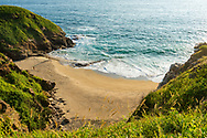A nude couple enjoy a quiet stretch of beach in Mazunte, located in Mexico's Oaxaca state. (Photographed with permission.)