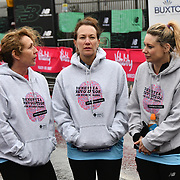 Dementia Revolution team at The Vitality Big Half 2019 on 10 March 2019, London, UK.