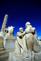 """The Monolith"", Vigeland Sculpture Park, Frogner Park, Oslo, Norway"