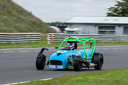 Oliver Batten pictured competing in the 750 Motor Club's Ma7da Race Series. Image captured at Snetterton on July 19, 2020 by 750 Motor Club's photographer Jonathan Elsey