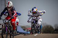 #7 (SAKAKIBARA Saya) AUS at Round 10 of the 2019 UCI BMX Supercross World Cup in Santiago del Estero, Argentina