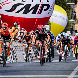 15-09-2020: Wielrennen: Giro Rosa: Terracina<br /> Marianne Vos won the fifth stage of the Giro Rosa.<br /> Earlier, the CCC-Liv team leader also won the third stage. As a result, the record holder of day victories now has 27 victories in the Italian women's round.