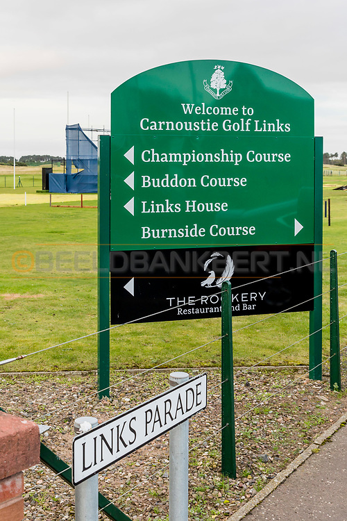 01-10-2019 CARNOUSTIE GOLF LINKS