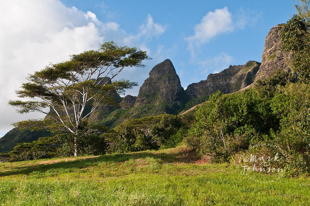 Kalalea Mountains, Anahola, Kauai, Hawaii