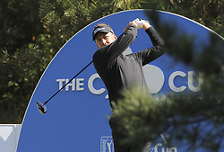 October 20, 2018 - Jeju, SOUTH KOREA - Oct 20, 2018-Jeju, South Korea-IAN POULTER of England action on the 6th tee during the PGA Golf CJ Cup Nine Bridges Round 3 at Nine Bridges Golf Club in Jeju, South Korea. (Credit Image: © Ryu Seung-Il/ZUMA Wire)