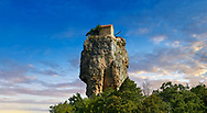 Picture & image of Katskhi Pillar Georgian Orthodox church on a 40 m (130 ft) natural limestone rock pillar near Chiatura, Imereti Region, Georgia (country).<br /> <br /> Studies have shown that the pillar was an early medieval hermitage occupied from at least the 9th century. .<br /> <br /> Visit our MEDIEVAL PHOTO COLLECTIONS for more   photos  to download or buy as prints https://funkystock.photoshelter.com/gallery-collection/Medieval-Middle-Ages-Historic-Places-Arcaeological-Sites-Pictures-Images-of/C0000B5ZA54_WD0s<br /> <br /> Visit our REPUBLIC of GEORGIA HISTORIC PLACES PHOTO COLLECTIONS for more photos to browse, download or buy as wall art prints https://funkystock.photoshelter.com/gallery-collection/Pictures-Images-of-Georgia-Country-Historic-Landmark-Places-Museum-Antiquities/C0000c1oD9eVkh9c