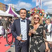 NLD/Amsterdam/20170617 - Amsterdamdiner 2017, Atilay Uslu en partner