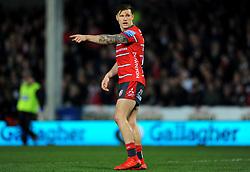 Jason Woodward of Gloucester Rugby gestures - Mandatory by-line: Nizaam Jones/JMP - 22/02/2019 - RUGBY - Kingsholm - Gloucester, England- Gloucester Rugby v Saracens - Gallagher Premiership Rugby