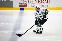 SOTLAR Jure during summer Hockey League match between HK SZ Olimpija and HDD SIJ Jesenice, on September 12, 2020 in Ice Arena Bled, Bled, Slovenia. Photo by Peter Podobnik / Sportida