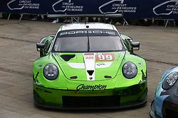 June 11, 2018 - Le Mans, FRANCE - 99 PROTON RACING (DEU) PORSCHE 911 RSR GTE PATRICK LONG (USA) TIM PAPPAS (USA) SPENCER PUPELLY  (Credit Image: © Panoramic via ZUMA Press)