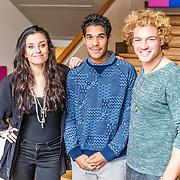 NLD/Amsterdam/20170202 -  Presentatoren Jules Unlimited, Eva Koreman, Maurice Lede