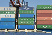Maasvlakte 2 (in volksmond ook: Tweede Maasvlakte) is de benaming voor het uitbreidingsproject van de Rotterdamse haven dat is gelegen ten westen van de (eerste) Maasvlakte. Het nieuwe havengebied is in opdracht van het Havenbedrijf Rotterdam gefaseerd aangelegd. <br /> <br /> Op de foto; Containership bij de Container Terminals