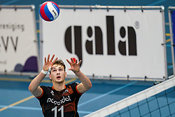 Guus Boer of Talent Team in action during the league match Talentteam Papendal vs. Taurus on october 16, 2021 in van der Knaaphal, Ede