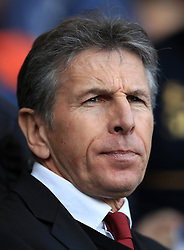"""Southampton manager Claude Puel during the Premier League match at White Hart Lane, London. PRESS ASSOCIATION Photo. Picture date: Sunday March 19, 2017. See PA story SOCCER Tottenham. Photo credit should read: John Walton/PA Wire. RESTRICTIONS: EDITORIAL USE ONLY No use with unauthorised audio, video, data, fixture lists, club/league logos or """"live"""" services. Online in-match use limited to 75 images, no video emulation. No use in betting, games or single club/league/player publications."""