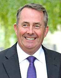 """Embargoed to 0001 Monday April 30 File photo dated 09/10/17 of Liam Fox, who is set to say people must confront the """"myths and wilful distortions"""" perpetuated by the anti-free trade lobby."""