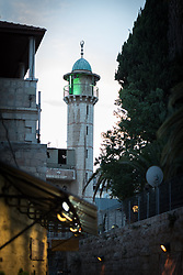4 October 2018, Jerusalem: Mosque in the Jerusalem Old Town.