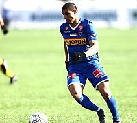 Fotball ,  OBOS-Ligaen<br /> 07.04.19<br /> Nammo Stadion<br /> Raufoss v Sandefjord  0-2<br /> Foto :  Dagfinn Limoseth , Digitalsport<br /> Mohamed Ofkir  , Sandefjord