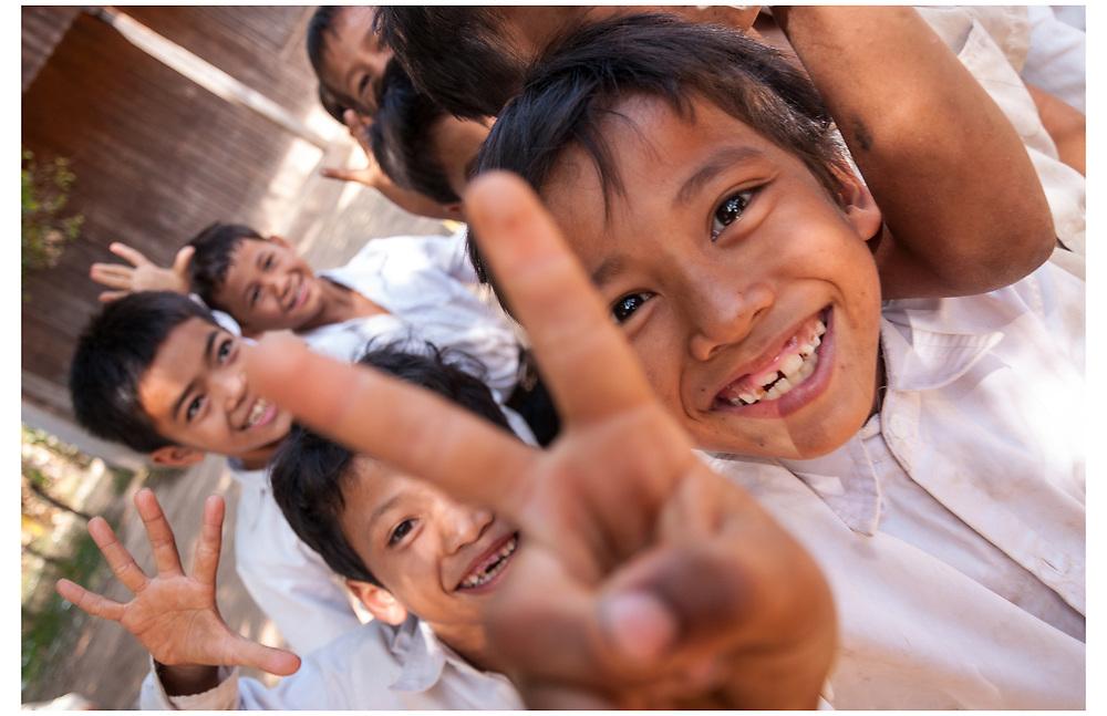 Kampot Primary School, Cambodia.