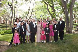 PASADENA, CA - MAY 03: 50th Anniversary Wedding in Honor of Gertrudis and Manuel Bugarin held at the Sheraton Hotel in Pasadena, California on May 03, 2014 (Photo by Jc Olivera)
