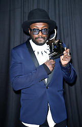 Embargoed to 2230 Wednesday September 28 Will.I.Am wins the tech personality of the year at the tenth annual T3 magazine awards at the Royal Horticultural Halls, London.