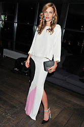 SARA BRAJOVIC at the InStyle Best of British Talent Event in association with Lancôme and Avenue 32 held at The Rooftop Restaurant, Shoreditch House, Ebor Street, London E1 on 30th January 2013.
