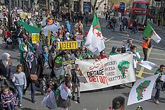 8th Algerian Protest London, London, 14 April 2019